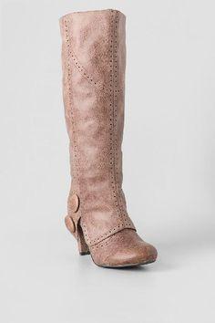 Bdad Knee High Heel Cuffed Boot $68.00