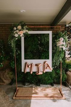 Mia's Rose Gold Garden Party | HOORAY! Mag #gardenparties #diypartydecorationsgold