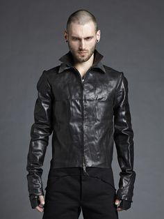 m.a+ Double Collar Biker Jacket