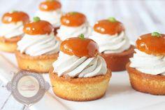 Surprises et gourmandises - Petit gâteau abricot et basilic inspiré de Christophe Michalak { Ambassadrice Sugar Paris }