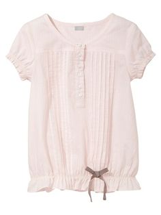 Girls' cotton blouse by Cyrillus