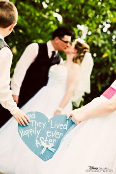 """""""And they lived happily ever after"""" #Disney #wedding #photography"""