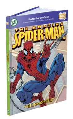 LeapFrog Tag Activity Storybook The Amazing Spider-Man: The Lizard's Tale LeapFrog Enterprises http://www.amazon.com/dp/B001W34FDW/ref=cm_sw_r_pi_dp_v6Tuub0F0H6MG