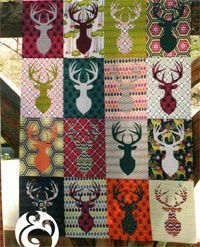 Big Game Quilt Pattern by Emily Herrick of Crazy Old Ladies at KayeWood.com. Instructions to make the quilt pictured in 5 sizes (Baby, Throw, Twin, Queen and King) Fat Quarter friendly. Template provided. http://www.kayewood.com/item/Big_Game_Quilt_Pattern/3879 $10.00