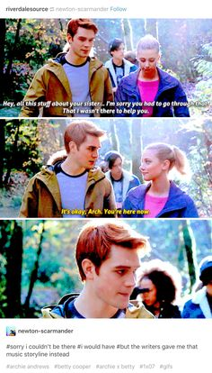 The words at the bottom XD XD Riverdale