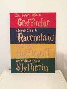 Pin By Mariachiara Lo Giudice On Harry Potter Harry Potter Canvas Harry Potter Hogwarts Houses Harry Potter Nursery