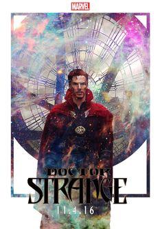 [fanmade poster] - DOCTOR STRANGE by POOHPATTAPON.deviantart.com on @DeviantArt