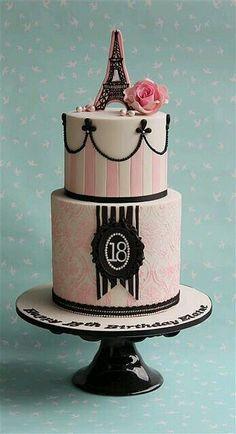 Cake para 18 anos (Niver)