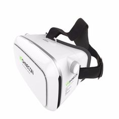 White 3D Virtual Reality VR Glasses Head Mount Google Cardboard For Android IOS #VR