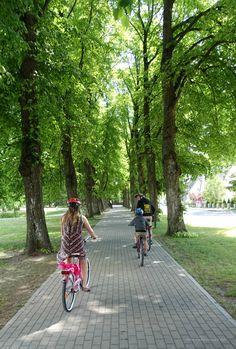 #Cycling in #Pärnu, #Estonia. Lithuania, Cycling, Biking, Bicycling, Ride A Bike