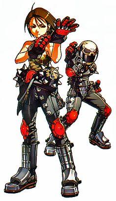 Akira Kazama , Rival Schools, Capcom