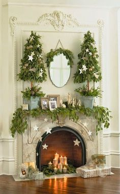 Vignettes Antiques: Dress Your Home For The Holidays!