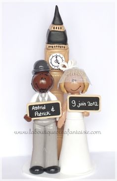 Family Wedding Cake Topper Www Laboutiquecreafantaisie Toppers Pinterest