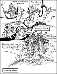 Manga: Reluctant Slayer Page03 by BlackUniGryphon.deviantart.com on @deviantART