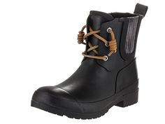 Sperry TopSider Womens Walker Steam Black Boot 8 Women US >>> This is an Amazon Affiliate link. Click on the image for additional details.