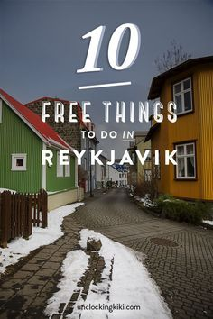 Iceland is an expensive country, but luckily a lot of the sights don't cost any money at all. Here are 10 Free Things To Do In Reykjavik.