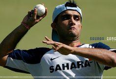 Saurav Ganguli Indian Cricketer HD Wallpaper | Desktop Wallpaper
