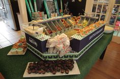 Seahawks Snack Stadium Super Bowl football party