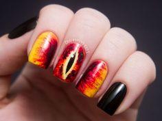 Eye of Sauron Nails