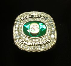 Oregon's 2012 Rose Bowl Game championship ring.