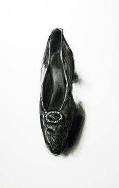 Shoe in charcoal by Lisa Milroy Lisa Milroy, Similarities And Differences, Art Shoes, 3 Arts, Gcse Art, Andy Warhol, Art Projects, Past, Identity