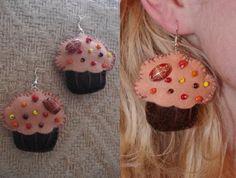 muffinki - kolczyki