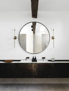 Bathroom | Hunters Hill House by Handelsmann & Khaw | est living #modernbathroomdesign