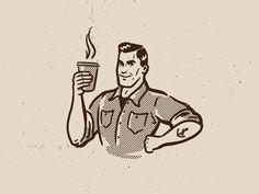 Coffee Bob. Final logo