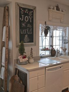 The kitchen is truly the heart of the home...especially during the Christmas season. Come on in and enjoy a look around. ...