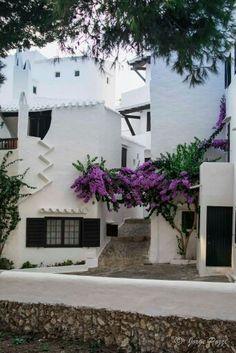 Cases de Menorca.  Binibeca Vell