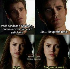 Stelena sobre Katherine (Stefan Salvatore and Elena Gilbert) The vampire diares