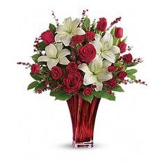 Love's Passion Bouquet  | RTP Fresh Flowers  FLORIST