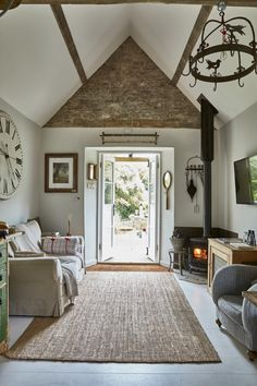 Eclectic Home Tour – Filly Island - this tiny cottage is filled with reclaimed and vintage finds