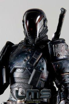futuristic samurai armor - Google Search