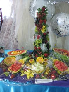 fruit displays for wedding receptions | Spotlights tagged with ...