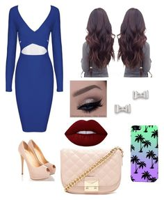 """""""Untitled #7"""" by marinavigil57 ❤ liked on Polyvore featuring moda, Lime Crime, Forever 21 e Marc by Marc Jacobs"""