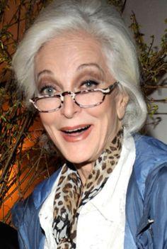 Carmen Dell'Orefice: Love the glasses.