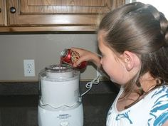 Make a Slushie in a Cuisinart Ice Cream Maker!