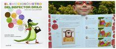 TOP 25 Libros informativos para niños, emocionometro inspector dirlo, susanna isern