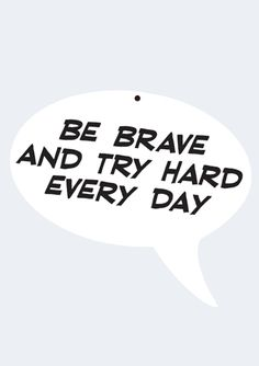Be Brave and Try Hard Every Day acrylic wall art Cool Gifts For Teens, Cool Wall Art, Acrylic Wall Art, Try Harder, Tween Girls, Art For Kids, Brave, Cool Stuff, Day