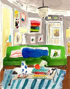 bella foster interior illustration