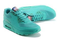 new product 77435 e47b9 nike air max 90 hyp qs unisex all green sneakers p 2402