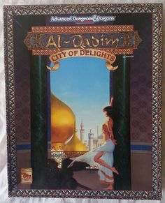 The City of Delights Boxed Set for the Advanced Dungeons & Dragons 2nd Edition Al-Qadim setting. #RPG