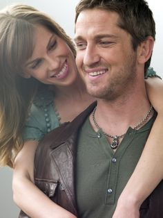 Hilary Swank and Gerard Butler in P.S. I Love You