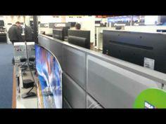 #LG dévoile sa TV OLED incurvée: un téléviseur ultra HD de 105 pouces.. vous pouvez le trouver chez #Fnac