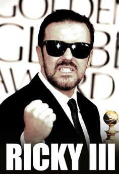 All is need to cheer me up is Ricky Gervais. Hilarious.