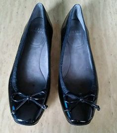 Stuart Weitzman shoes size 7M Womens Leather Ballet Flats