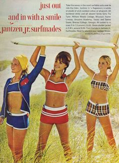 Super Vintage Outfits For Teens Bathing Suits Ideas Vintage Outfits, Retro Outfits, Outfits For Teens, Vintage Clothing, 60s And 70s Fashion, Retro Fashion, Vintage Fashion, Fashion Fashion, Fashion Trends