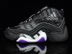 adidas II, first pair of feet you wears i think. loved the different textures and stitching, the see through side panel Basketball Shoes Kobe, Basketball Shorts Girls, Basketball Shooting, Classic Sneakers, Air Max Sneakers, Old Shoes, Women's Shoes, Popular Shoes, Kobe Bryant