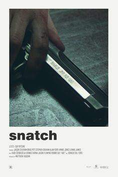 Andrew Sebastian Kwan — Snatch alternative movie poster
